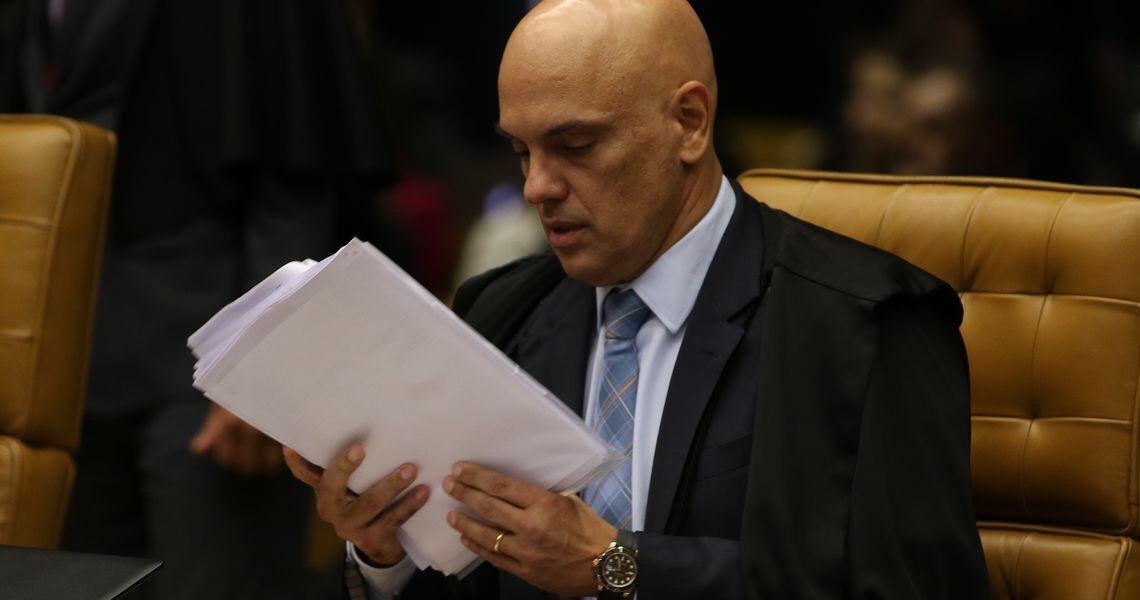 Alexandre Moraes vota a favor do envio de dados da Receita e do antigo Coaf