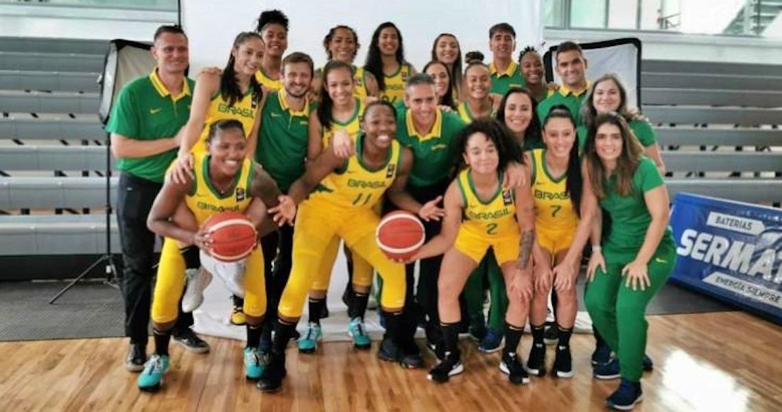 FIBA divulga potes para o sorteio do Pré-Olímpico feminino de basquete para Tóquio 2020