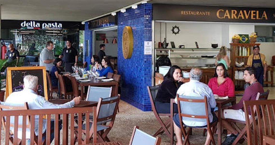 Novo Complexo de Restaurantes do Iate traz três especialidades diferentes para almoço e jantar