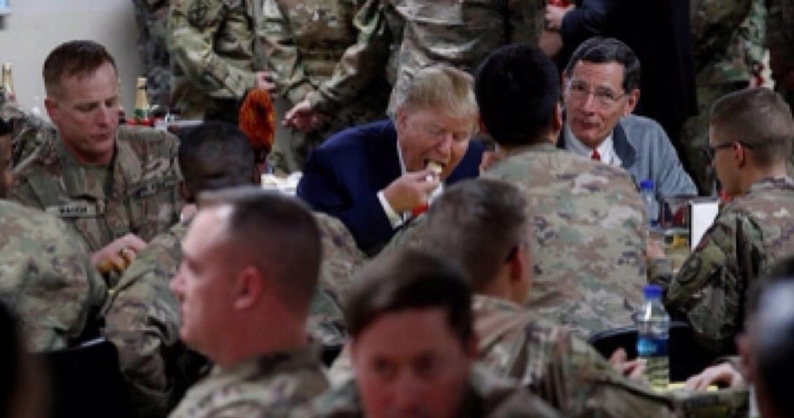 Em visita surpresa ao Afeganistão, Trump anuncia retomada de diálogo com Taleban