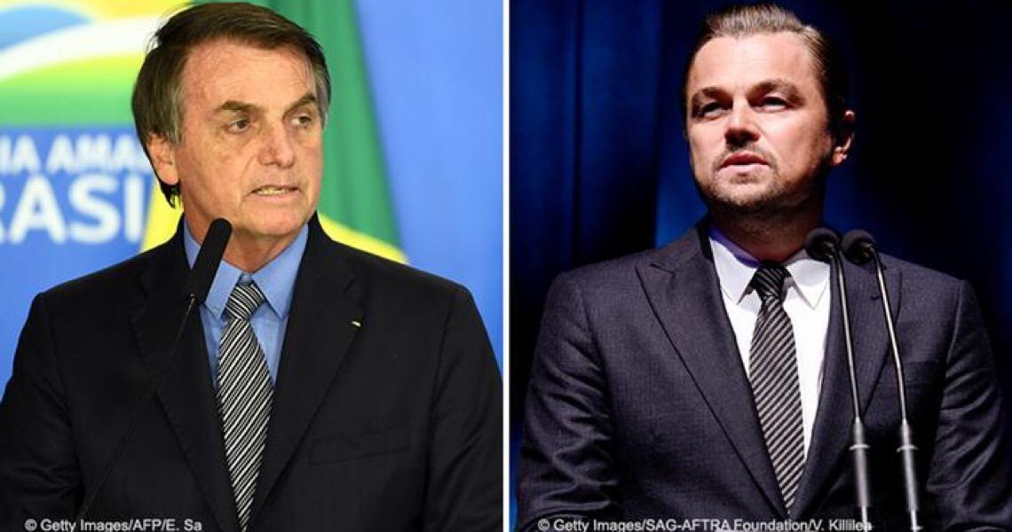 Leonardo DiCaprio rebate acusação de Jair Bolsonaro sobre queimadas