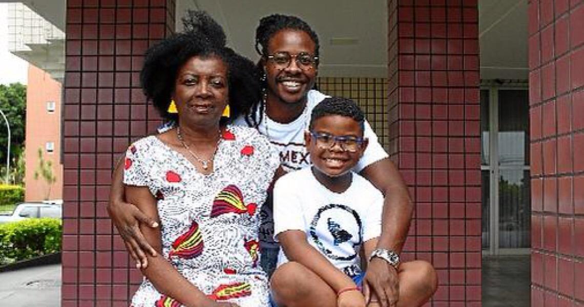 Família em luta pela igualdade