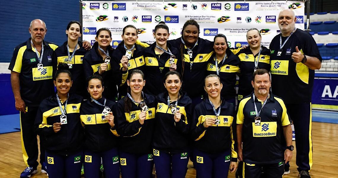 Vôlei: brasiliense vai à Surdolimpíadas pela seleção feminina