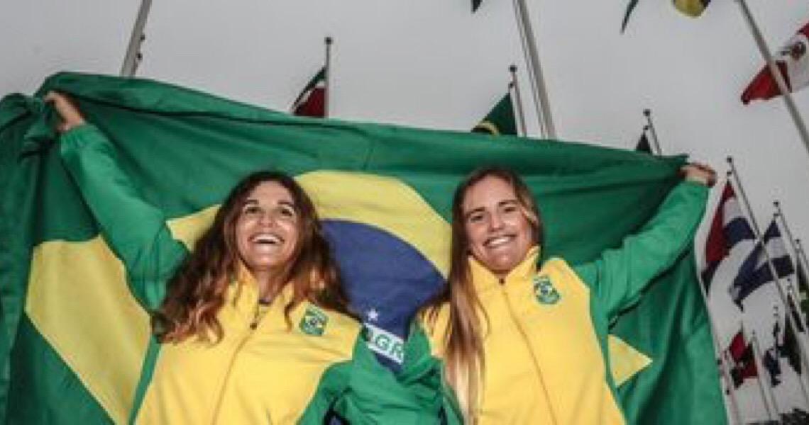 Martine e Kahena são vice-campeãs no Mundial de Vela, na Austrália
