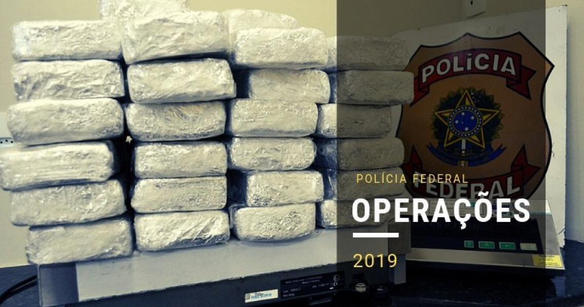 Polícia Federal brasileira desarticula organização criminosa de tráfico internacional de drogas