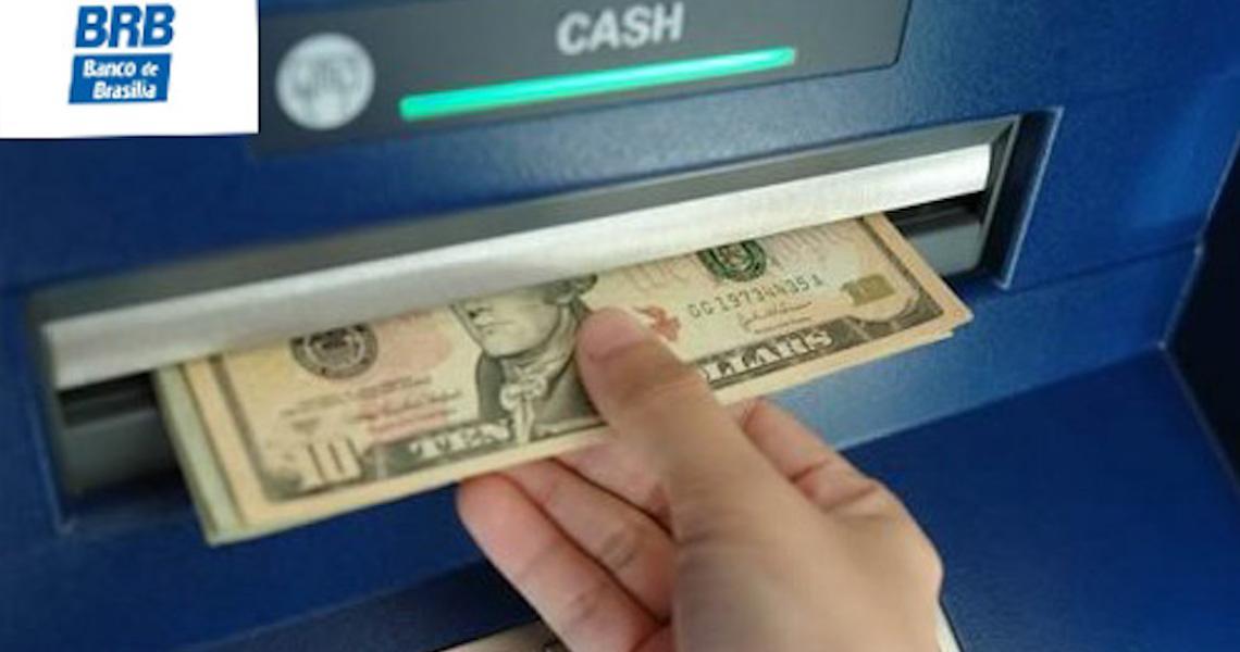 BRB libera venda de dólar e euro em ATM