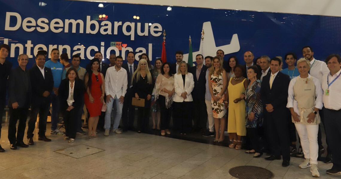Brasília já tem voo direto para o Paraguai. Ministra do Turismo do país vizinho veio ao DF