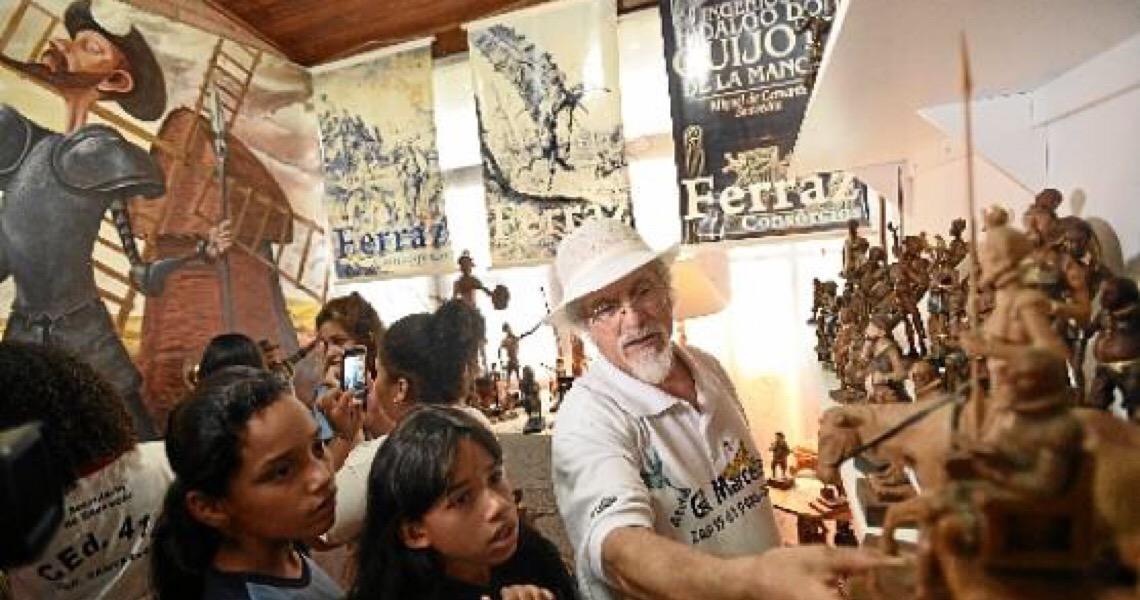 Asas à literatura candanga. Dom Quixote vai se aventurar por Brasília
