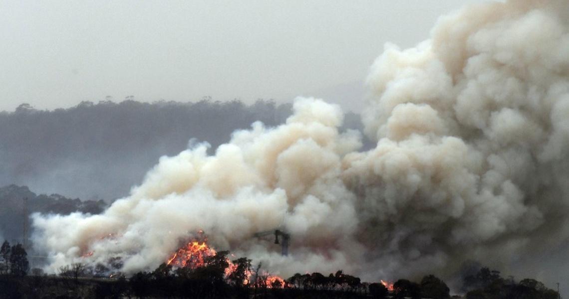 Fumaça dos incêndios na Austrália chega ao Chile e à Argentina
