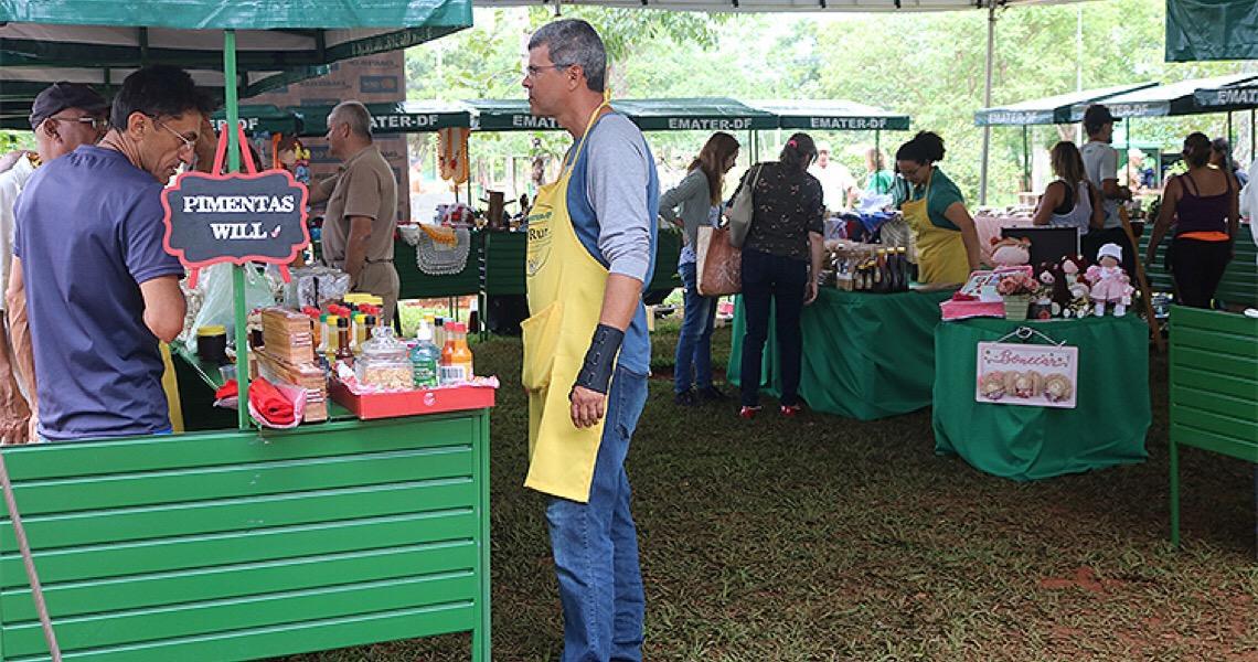 Emater do Distrito Federal organiza neste sábado, feira no Parque da Cidade