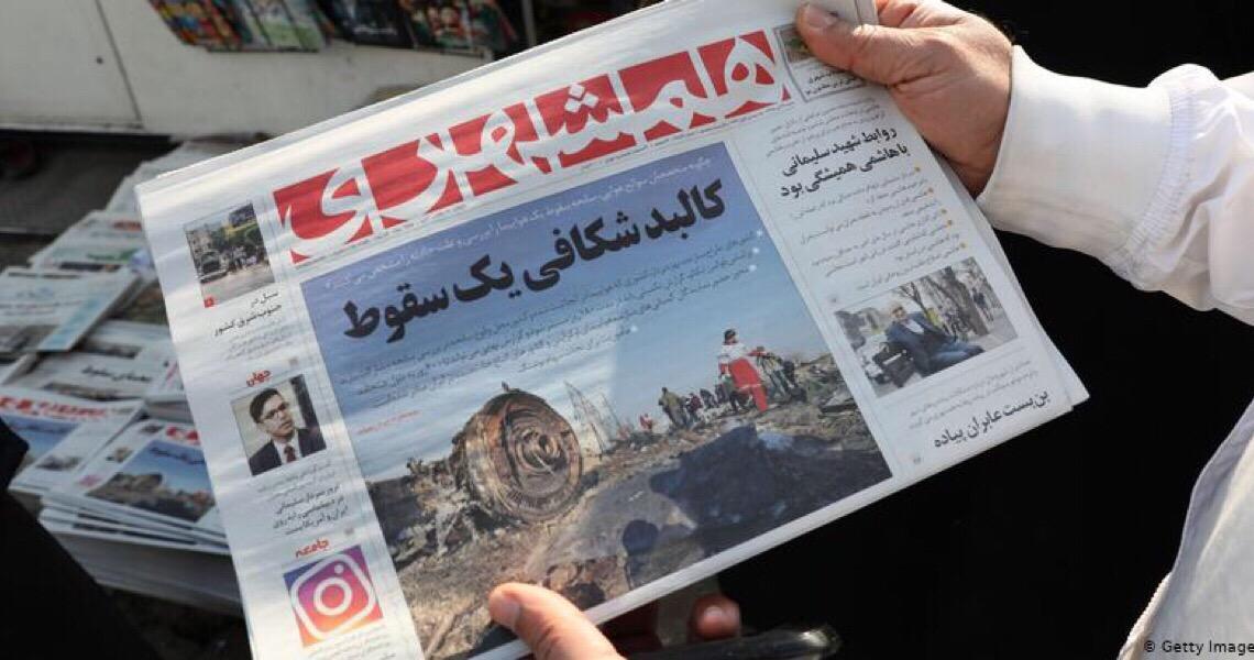 Irã admite abate