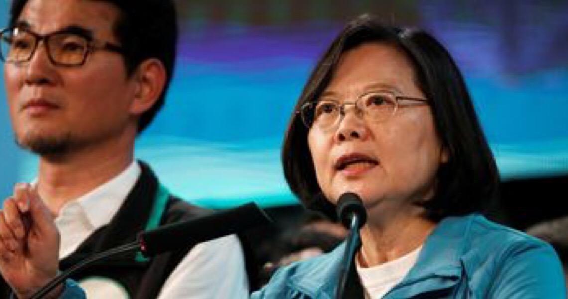 Tsai Ing-wen é reeleita no Taiwan com mais de 8 milhões de votos