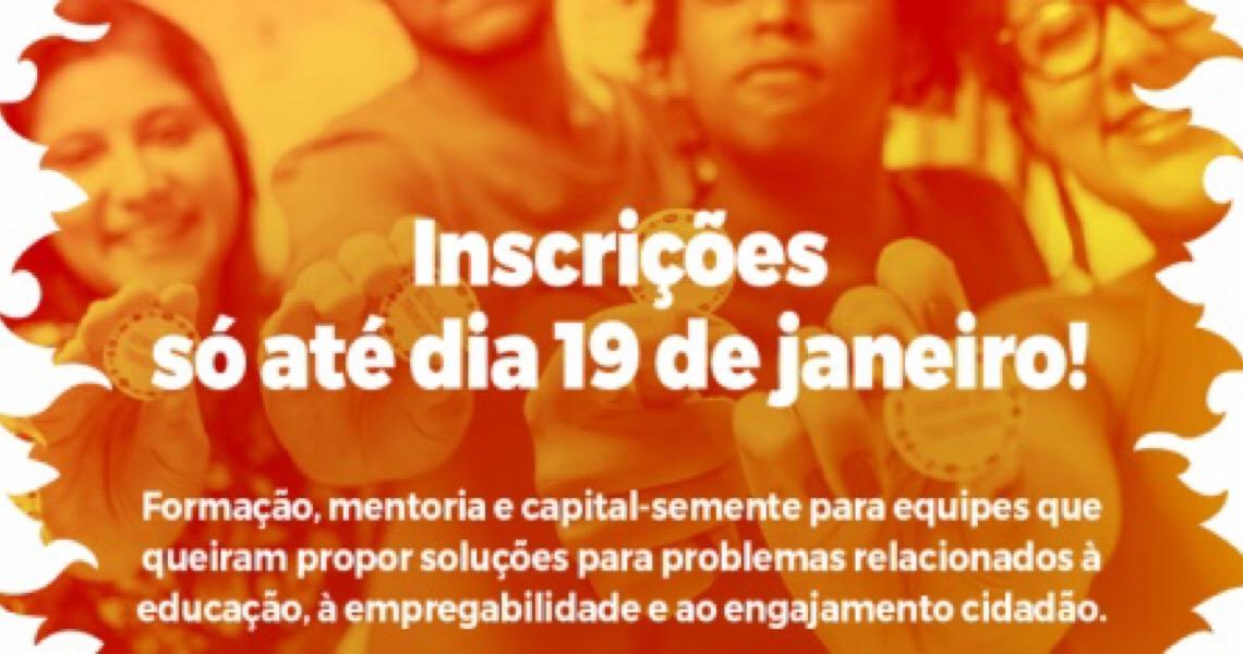 Iniciativa global financia projetos de impacto social criados por adolescentes e jovens