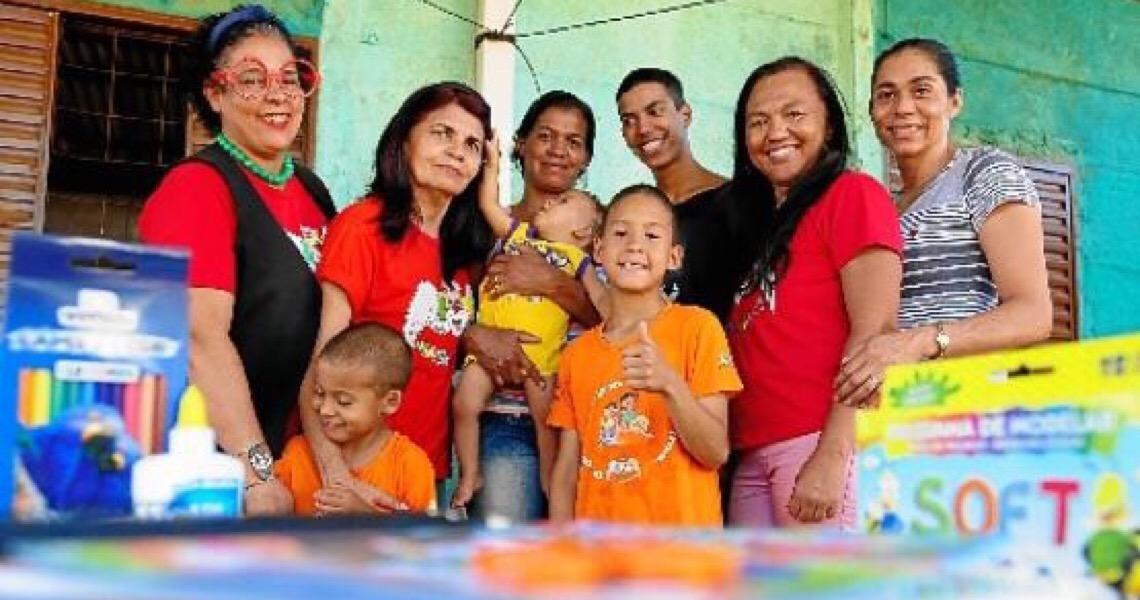 Projeto social arrecada material escolar para doar a crianças de baixa renda das áreas rurais do DF