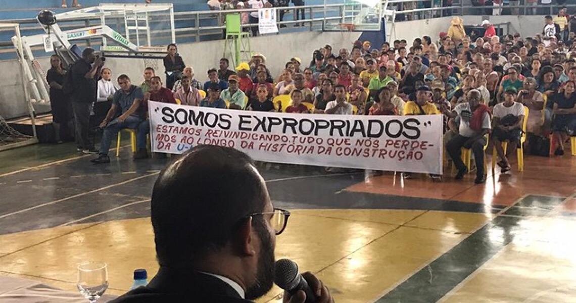 MPF promete dar seguimento à reparação de atingidos por hidrelétrica em Tucuruí