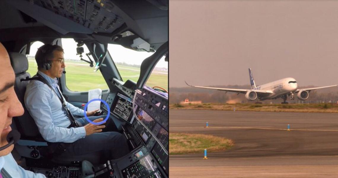 Avião comercial decola sozinho pela primeira vez na história