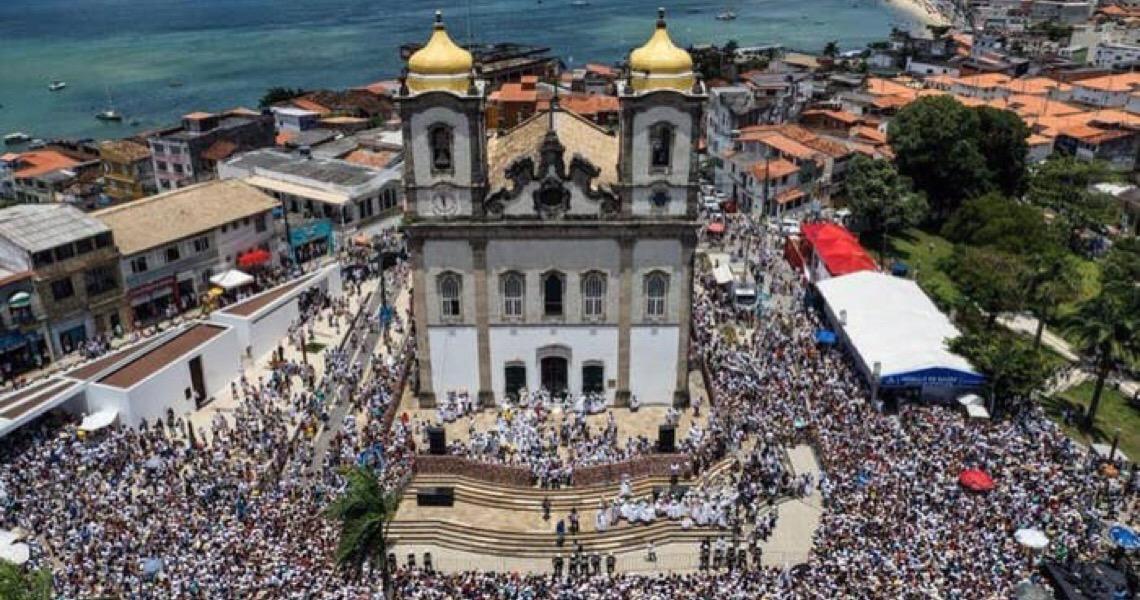 Dez momentos incríveis da Lavagem do Bonfim em Salvador