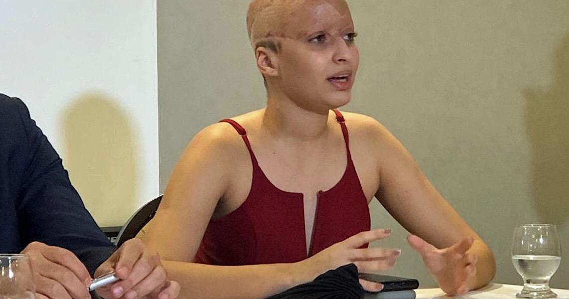 'Fiquei abismada em ter que colocar um valor na minha saúde', diz jovem escalpelada em kart
