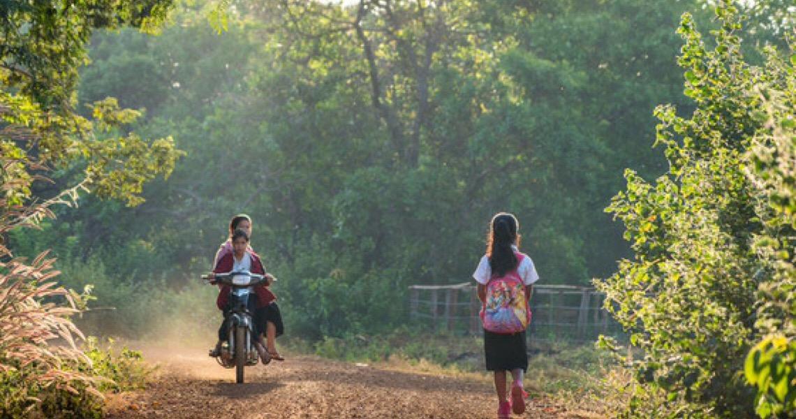 Segundo a Unicef, 30% das meninas de famílias mais pobres nunca foram à escola