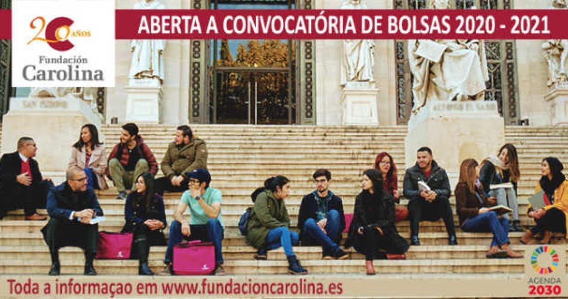 Fundación Carolina oferece 822 bolsas para estudar na Espanha