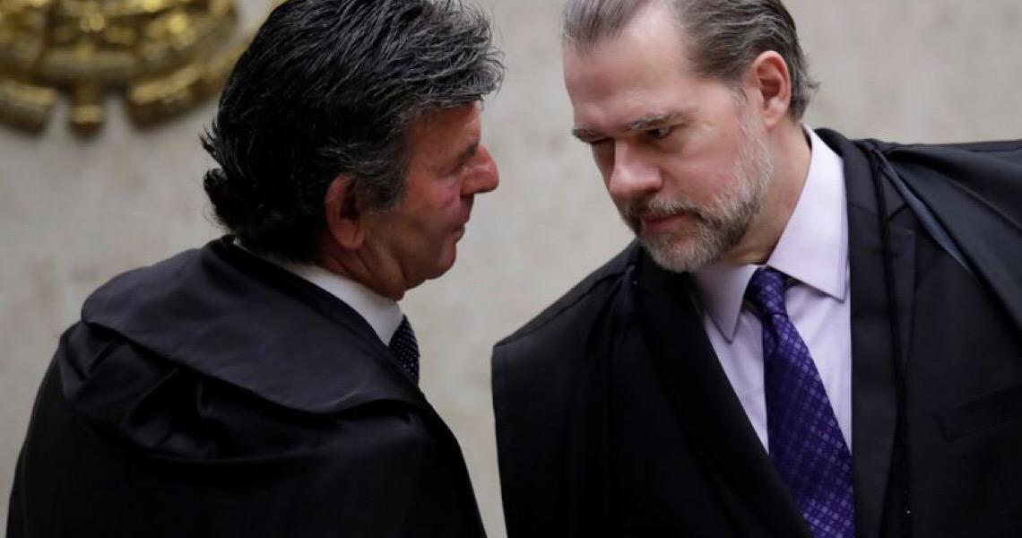 Fux diz que informou previamente a Toffoli que mudaria decisão sobre juiz de garantias