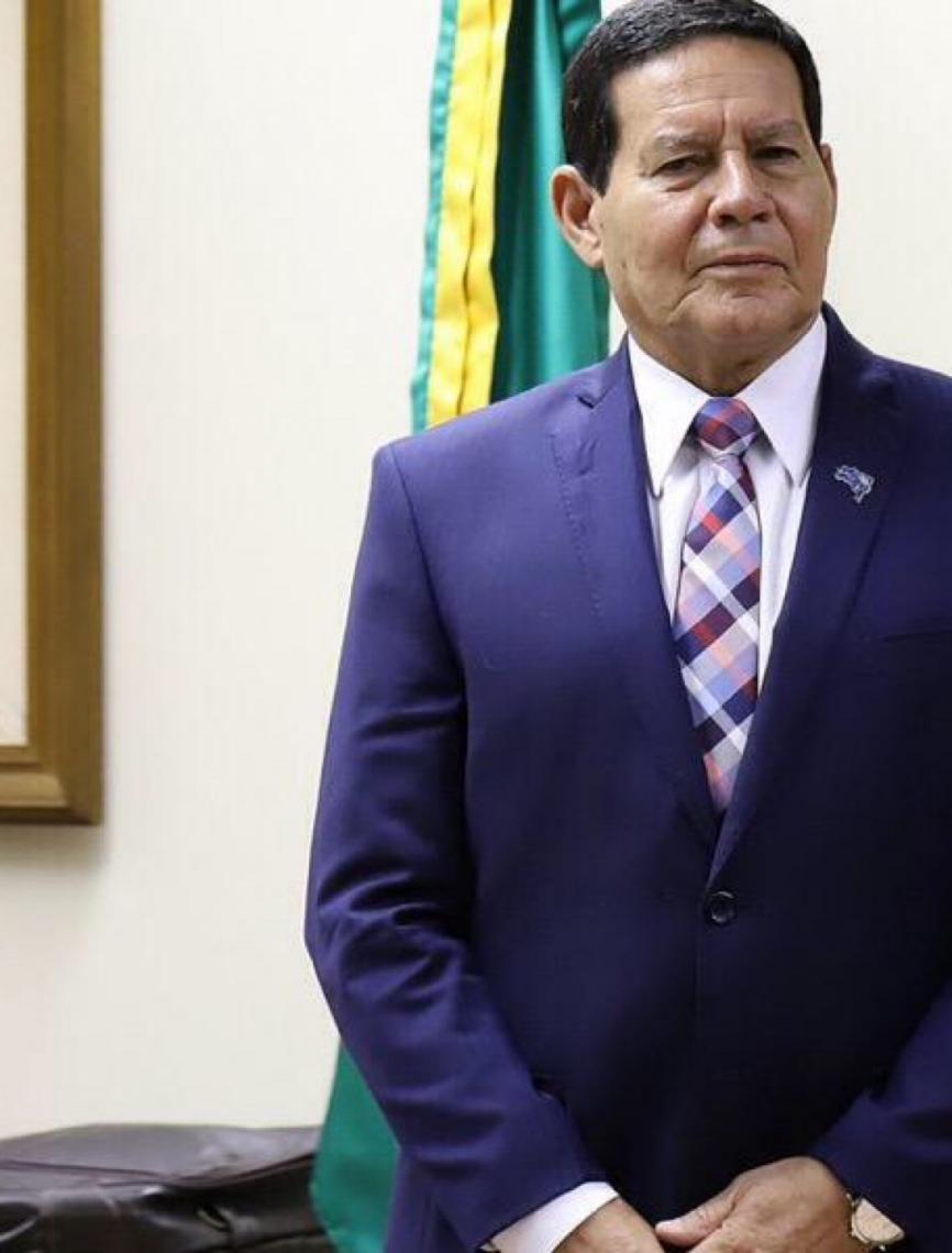 """Hamilton Mourão, sobre ministério de Sergio Moro: """"Tem que ficar como está"""""""