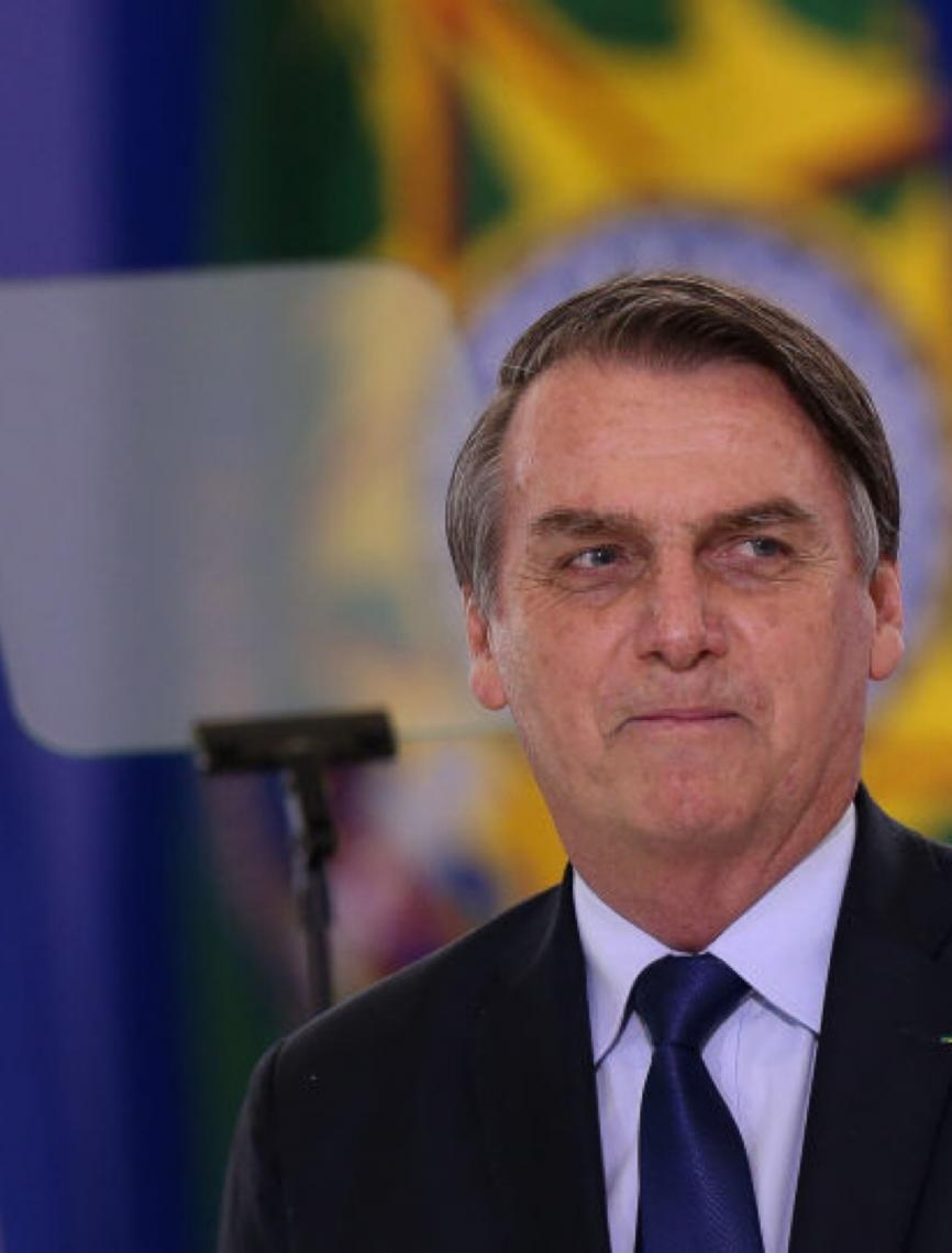 'Não tenho problema nenhum com ele', diz Bolsonaro sobre Moro