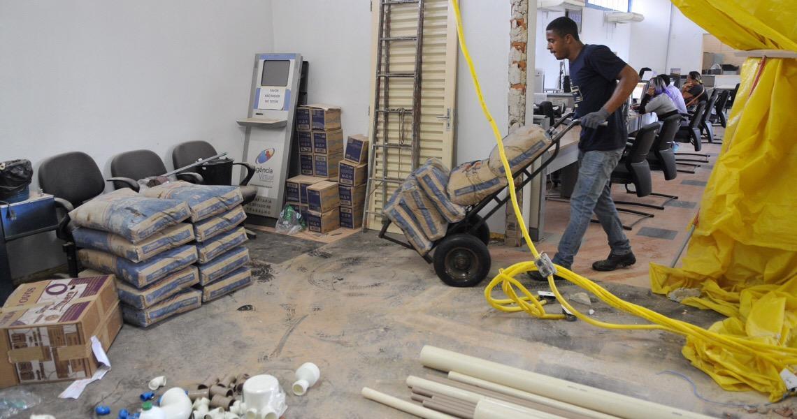 Agências do trabalhador no Distrito Federal passam por reforma