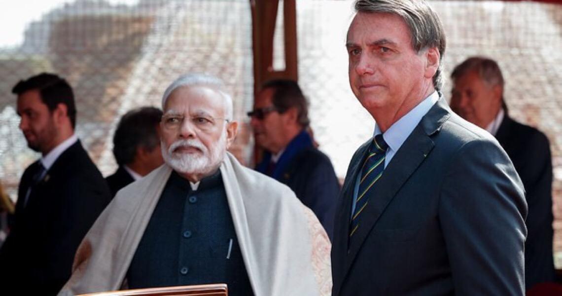 Ponto a ponto: conheça os 15 acordos firmados por Bolsonaro e Modi na Índia