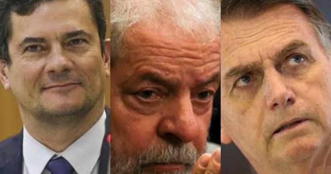 Bolsonaro e Lula veem Sergio Moro como presidenciável