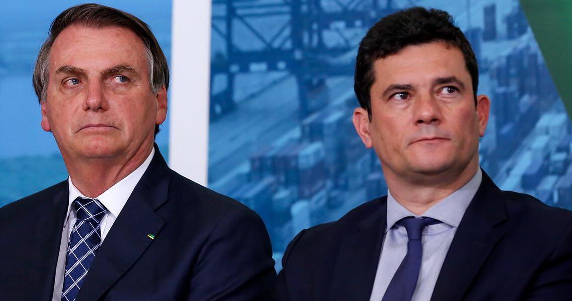 Moro diz que Bolsonaro assumiu com ele 'compromisso' para ações de segurança pública