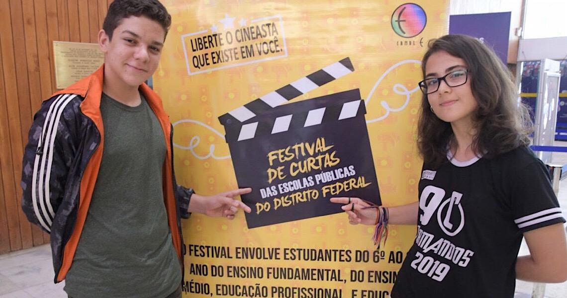 Vem aí o 6º Festival de Curtas das escolas públicas do DF