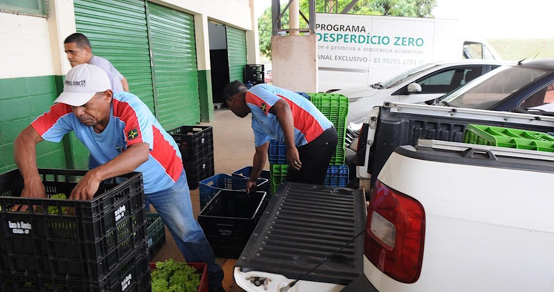 Desperdício Zero: programa da Ceasa-DF doa alimentos a quem precisa