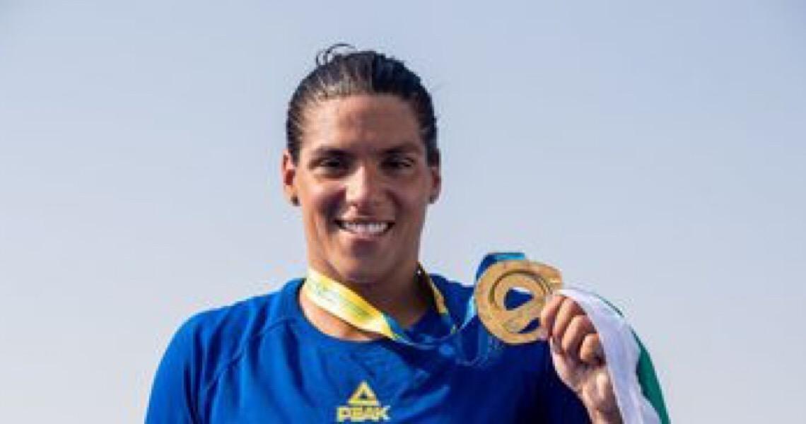 Maratona Aquática: Ana Marcela Cunha é a melhor do mundo