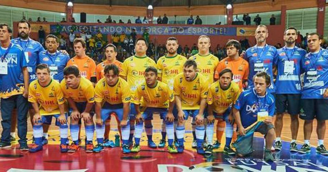 Seleção de Futsal Down consegue apoio da CBF para jogar Mundial