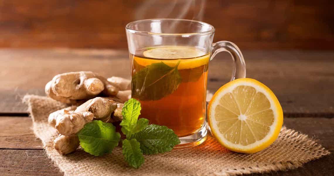 Para perder peso beba chá verde com chia e gengibre