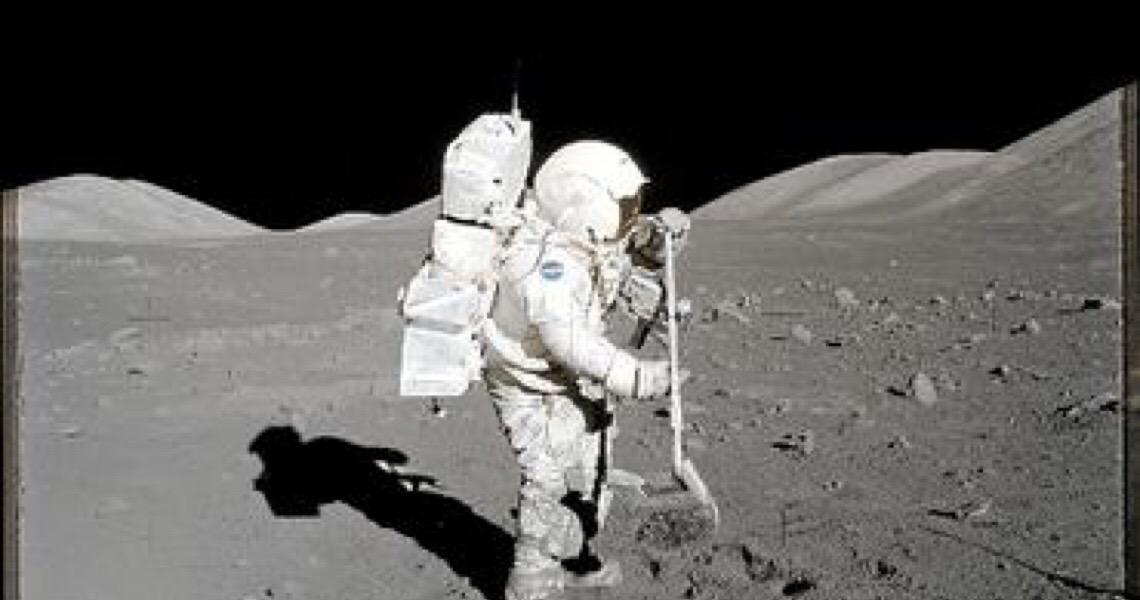 """A Lua em um grão. """"Estamos analisando rochas do espaço, átomo a átomo"""""""