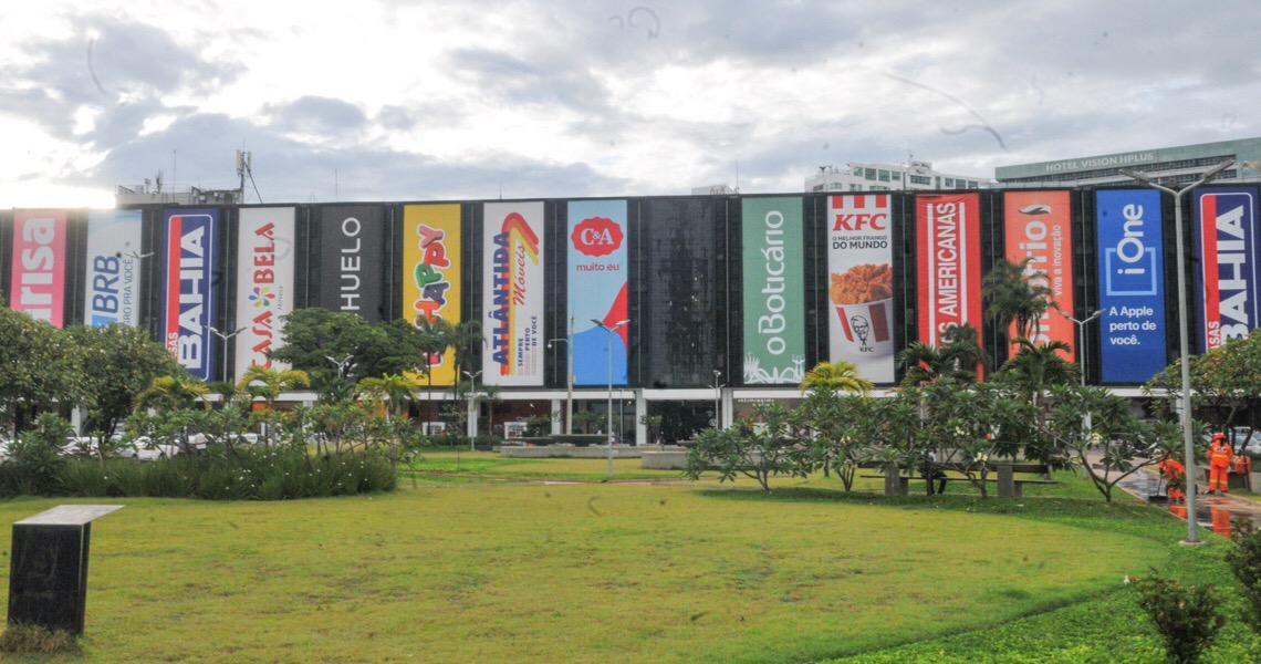 Praça Lúcio Costa é adotada pelo Conjunto Nacional Brasília