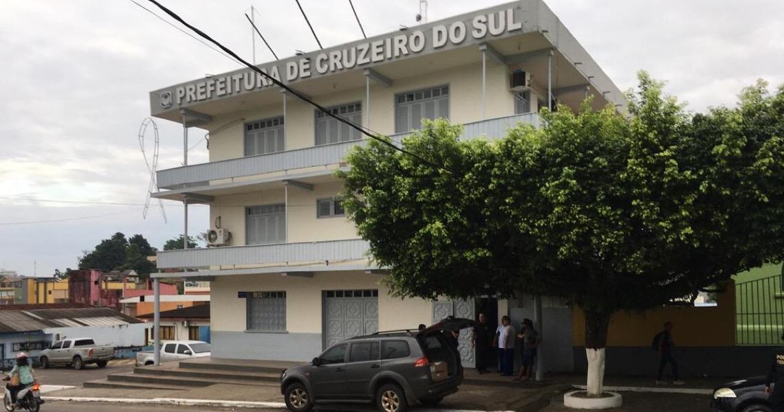 PF investiga esquema de lavagem de dinheiro e formação de quadrilha em contrato de ONG com prefeitura em Cruzeiro do Sul