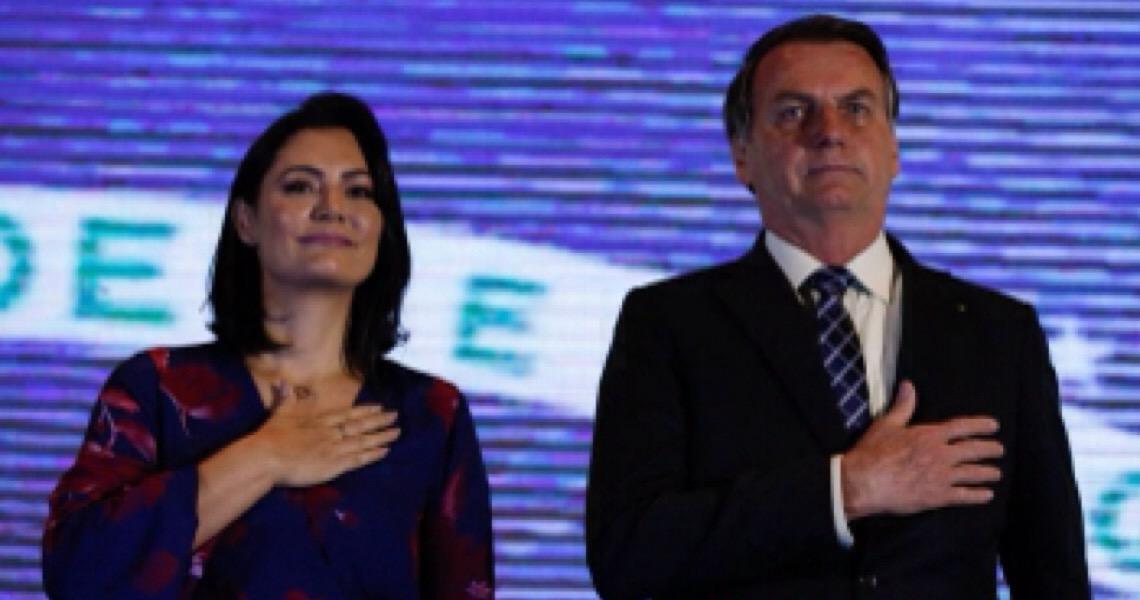 Uso da imagem da primeira-dama incomodava Jair Bolsonaro