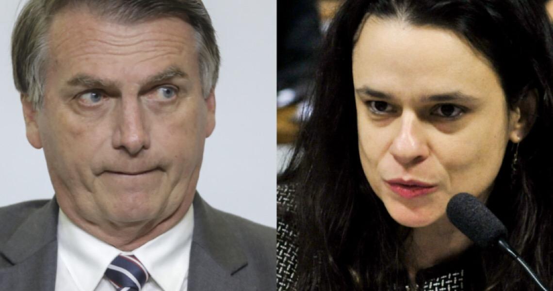 """Janaina Paschoal diz que declaração de Bolsonaro sobre repórter da Folha foi """"um ato de inegável grosseria"""""""