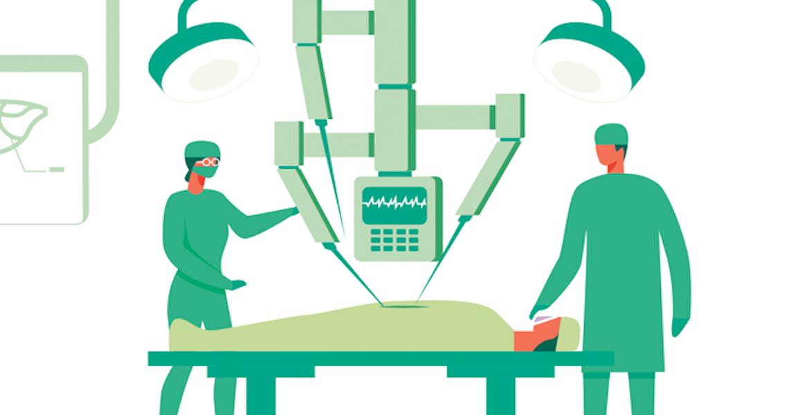 Cirurgia robótica avança no Brasil