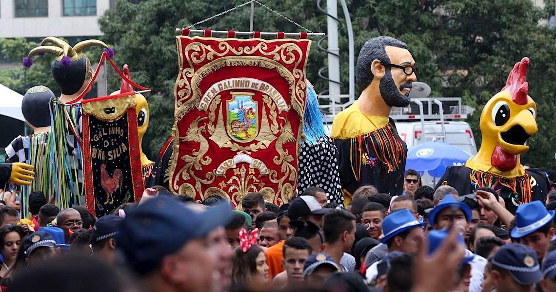 Confira programação de carnaval deste sábado em Brasília