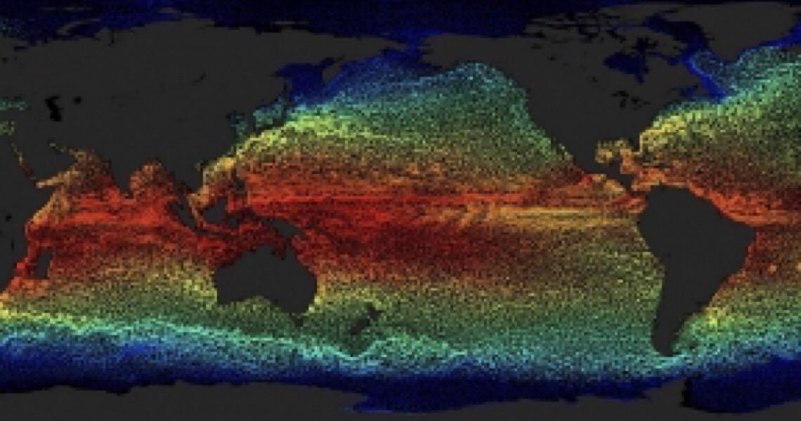 Correntes oceânicas aceleram, mais uma reação do aquecimento global