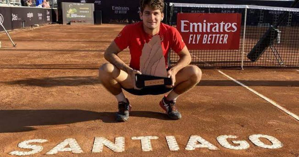 Em Santiago, Thiago Wild é o brasileiro mais jovem a ganhar título da ATP