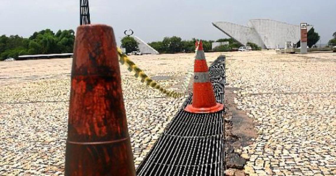 Cartão-postal será revitalizado. Preservando Brasília para os 60
