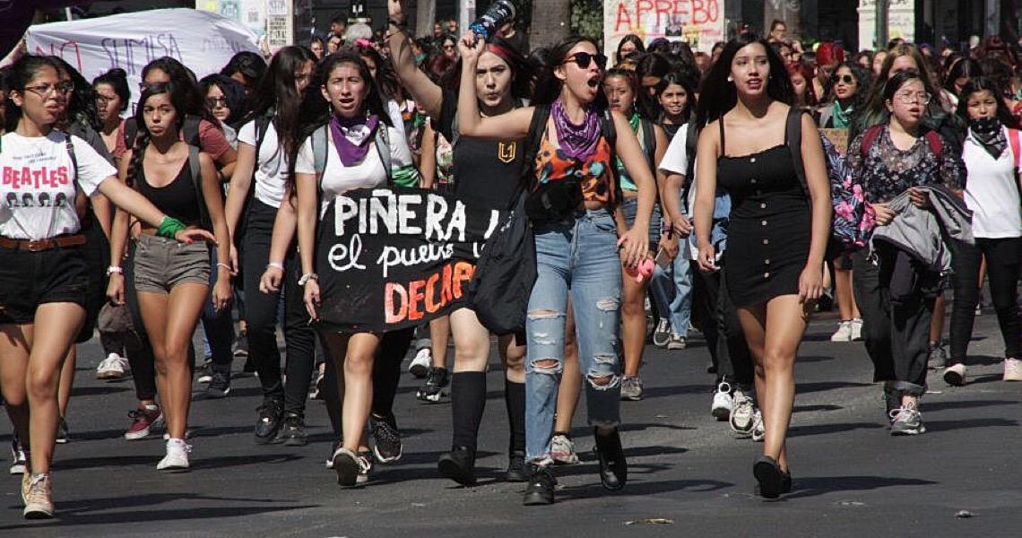 Greve feminista: chilenas fazem segunda marcha massiva no país, após histórico 8M