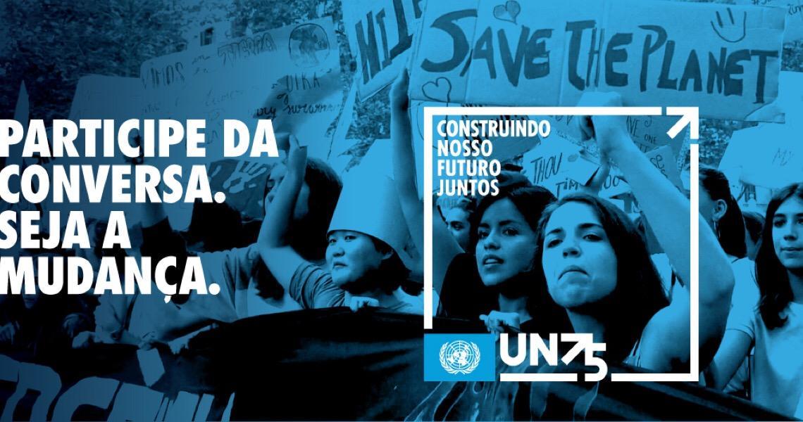 ONU convida brasileiros a participar de pesquisa online sobre o futuro que queremos