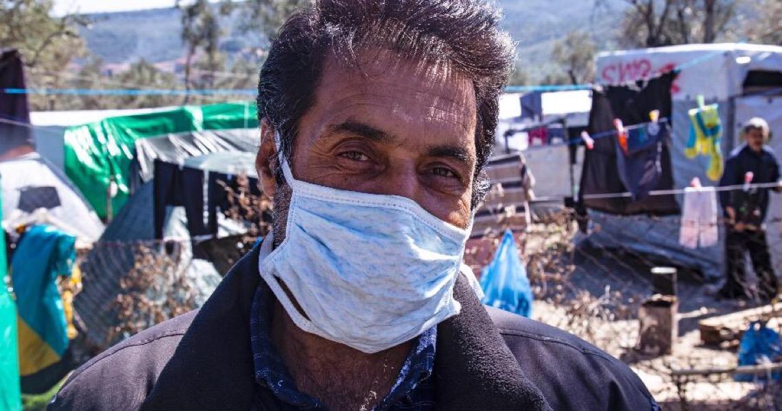 'Era só o que me faltava, fugir do Taleban e não poder escapar de um vírus'