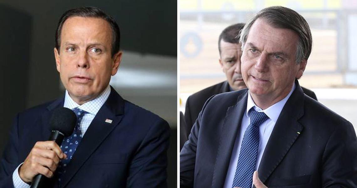 Jair Bolsonaro e João Doria protagonizam bate-boca em reunião do presidente com governadores
